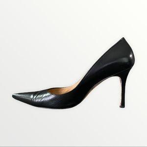 Manolo Blahnik Black BB Heels   Size 40